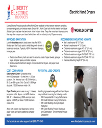 Download Our Electric Hand Dryer Brochure
