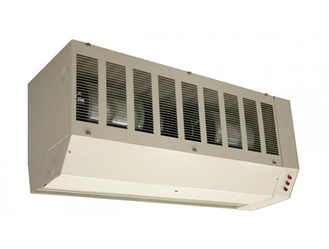 Electrically Heated Air Curtains