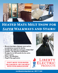 Heated Snow Melting Mats That Can Be Left Outside All Winter Long