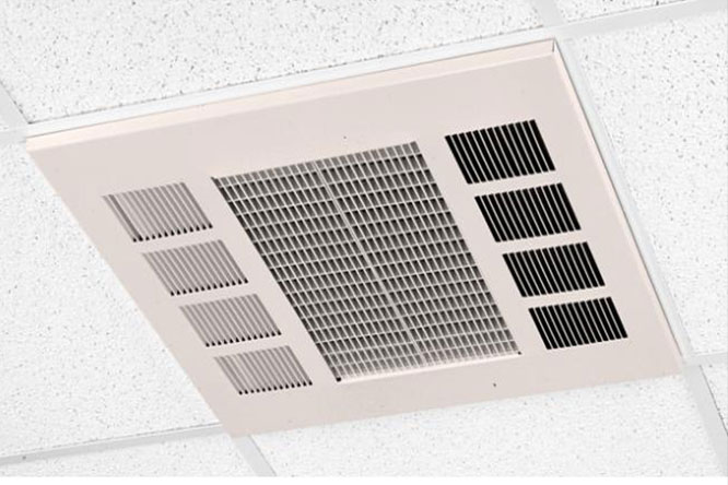 Commercial Downflow Ceiling Heater