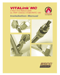 VITALink Fire Rated Cable Installation Guide