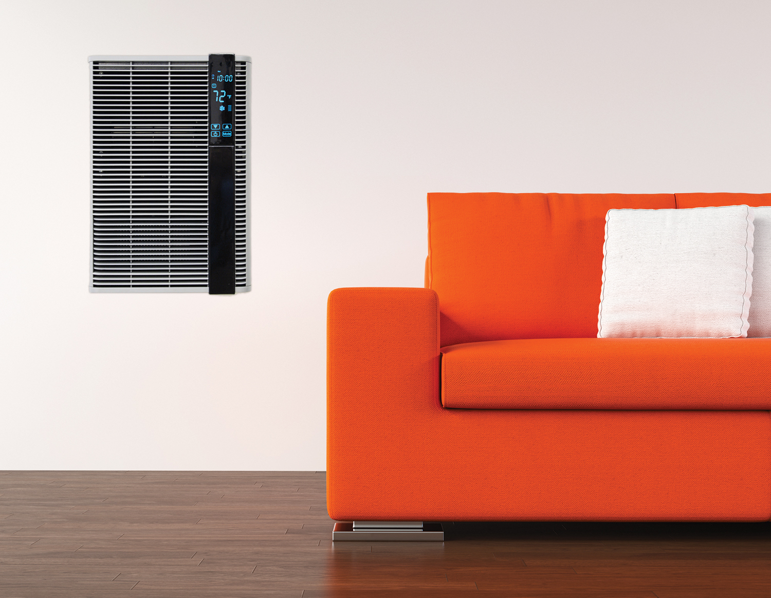 Wall Heater Installed in Living Room